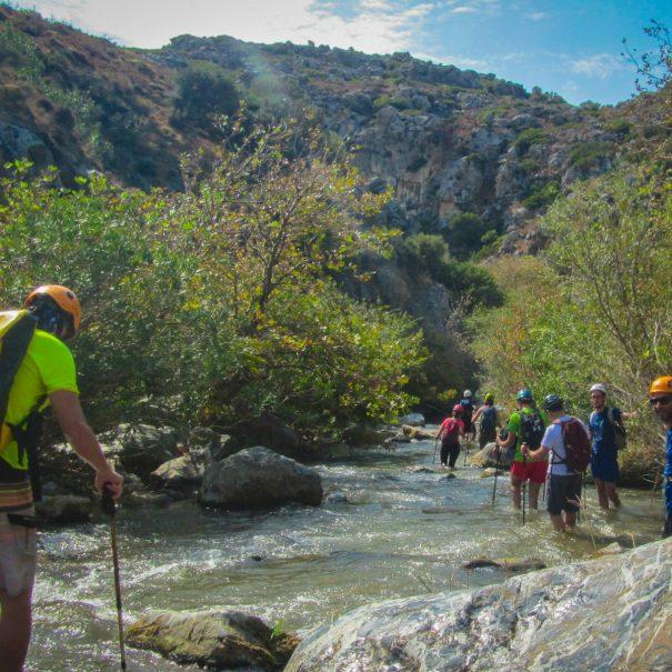 River trekking crete